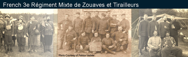 3rd Regiment Mixte of Zouaves & Turcos